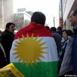 Derya With the Kurdish Flag
